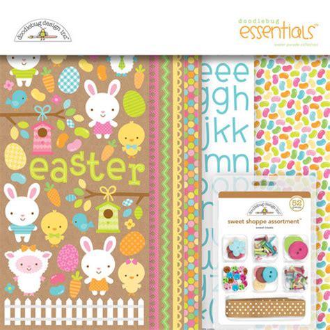 doodlebug easter parade doodlebug design easter parade collection essentials kit
