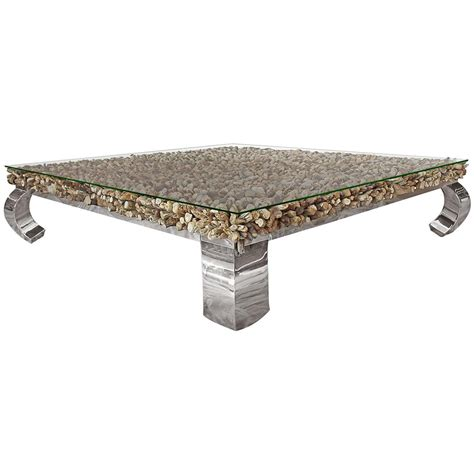 driftwood and glass coffee table bradford rustic lodge driftwood glass steel coffee table