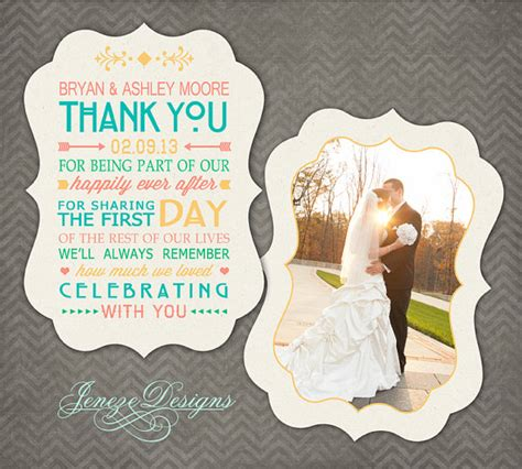 wedding thank you template luxe wedding thank you card photoshop template item tc018
