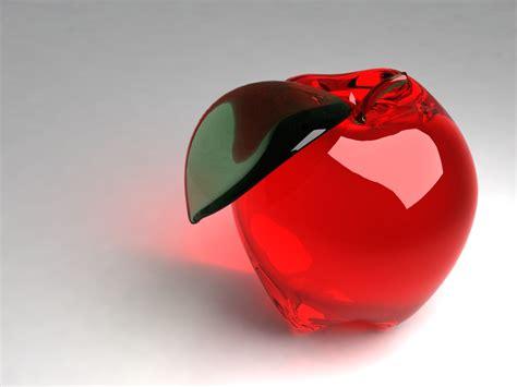 wallpaper apple deviantart glass apple by the crimson shoe on deviantart