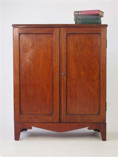 Mahogany Cupboard - small antique georgian mahogany cupboard