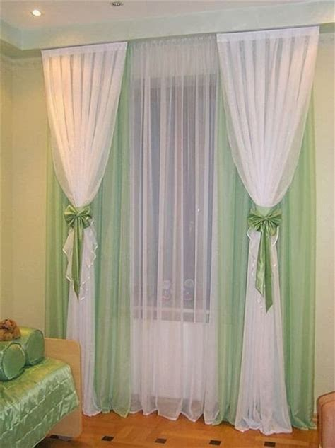 white and green curtains top 15 childrens bedroom curtains designs ideas colors 2014