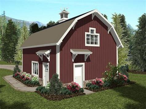 Carriage House Plans Barn Style Carriage House Plan With Gambrel Roof Carriage House Plans