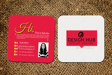 mini business card template 15 small business cards free psd eps ai format