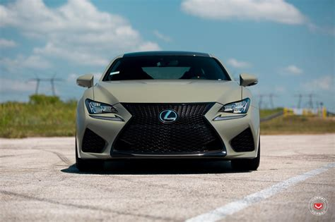 lexus green army green lexus rc f white gs f pose on custom rims 49