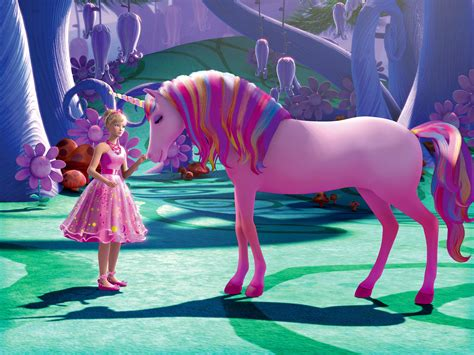 film barbie unicorn coloriage licorne barbie 224 imprimer et colorier