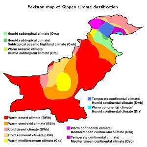 climate of pakistan wikipedia