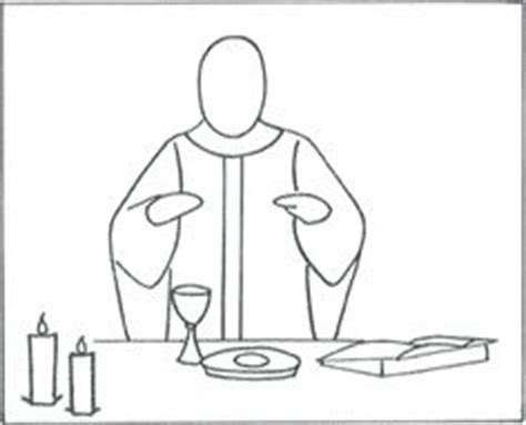 coloring page of catholic mass parts of catholic mass coloring page coloring pages