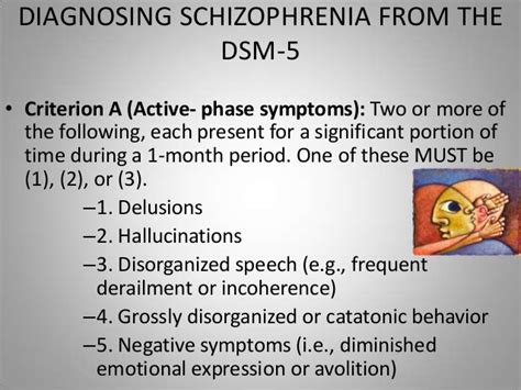 dsm 5 section 3 schizophrenia