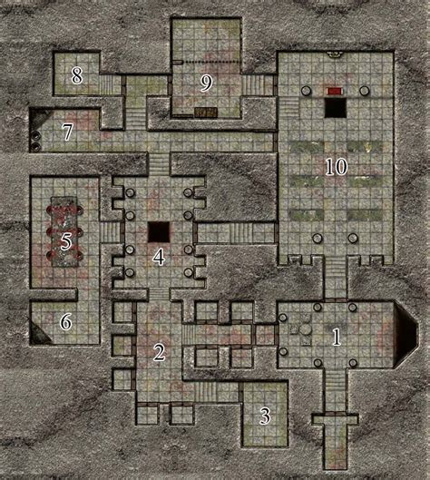 How To Draft A Floor Plan d amp d next thunderspire labyrinth part 1 awful good games