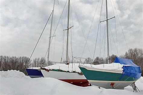 living on your boat in the winter winter comes again is your boat ready boatus magazine