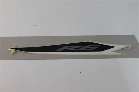Yamaha R6 2003 Aufkleber yamaha r6 rj05 rj09 sticker aufkleber decal cowling 2 2003