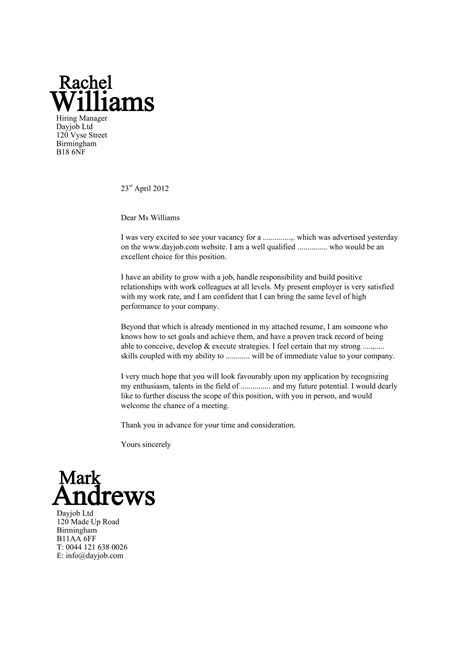 sample cover letter pdf cover letter throughout best sample cover