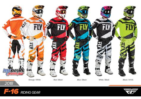 fly racing fly racing 2018 racewear full ranges revealed mcnews com au