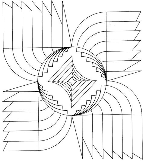 geometric shapes coloring pages pdf free coloring pages of 3d shape pdf