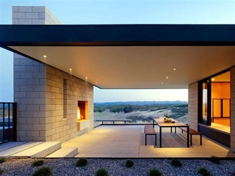 flat roof cottage style house design combined  modern