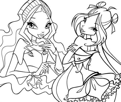 winx coloring pages winx coloring pages