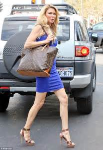 brandi glanville skinny brandi glanville displays slender figure in skintight