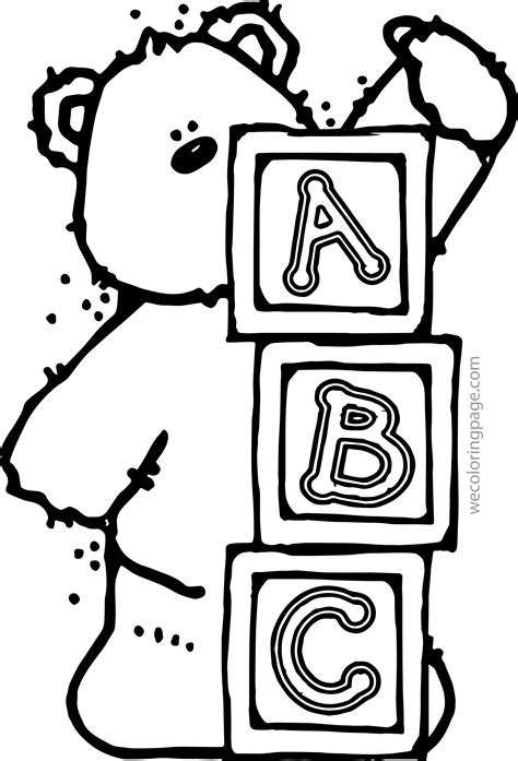 abc color abc coloring pages coloringsuite