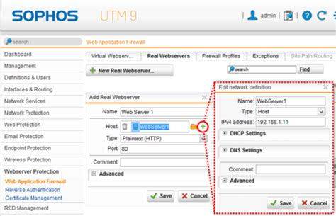 sophos utm tutorial publish websites with sophos utm webserver protection