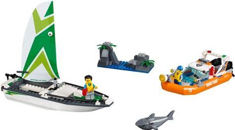lego boat rescue lego 60168 sailboat rescue i brick city