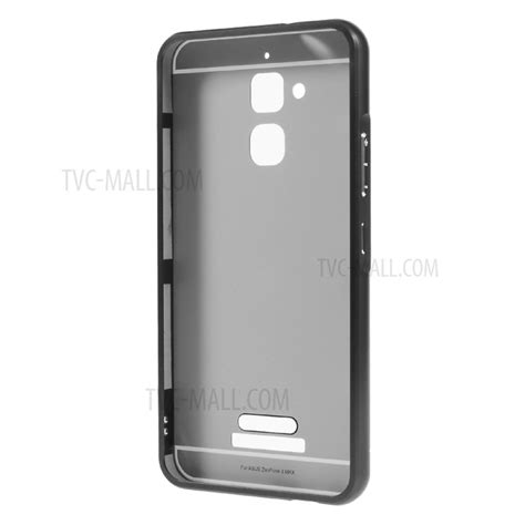 Zenfone 3 Max 52 Soft Back Cover Casing Jelly Sarung Blue 2 in 1 slide in metal frame plastic for asus