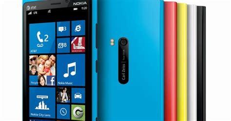 Hp Nokia Lumia Terkini harga hp nokia lumia 920 4g spesifikasi dan review
