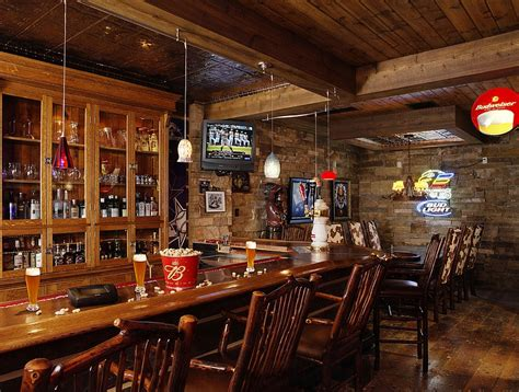 27 basement bars that bring home the times