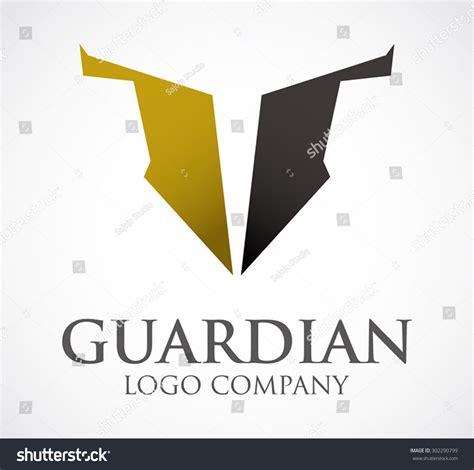 guardian design editor guardian shield protection abstract vector logo design