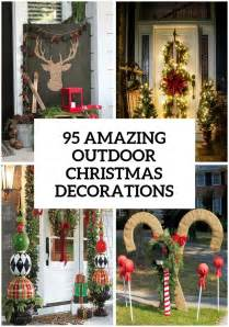 95 amazing outdoor christmas decorations christmas