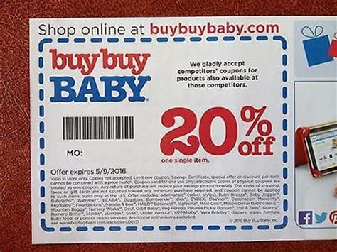 buy buy baby coupon 2016 coupon for shopping