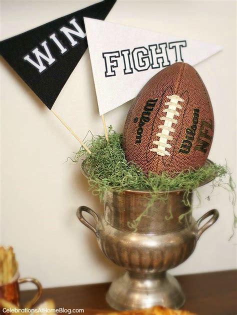 Football Decor by Best 25 Football Centerpieces Ideas On Football Centerpieces Football