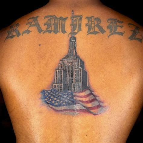 empire state tattoo empire state building from episode 11 s spines challenge
