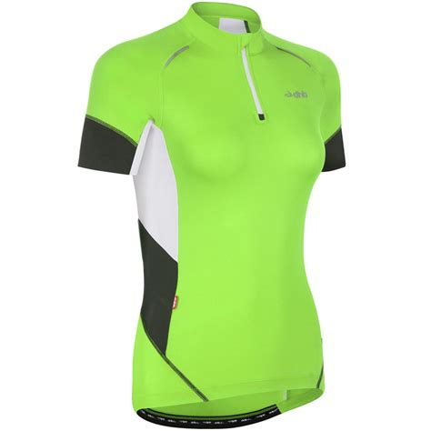 ladies section wiggle dhb ladies section short sleeve fluoro jersey