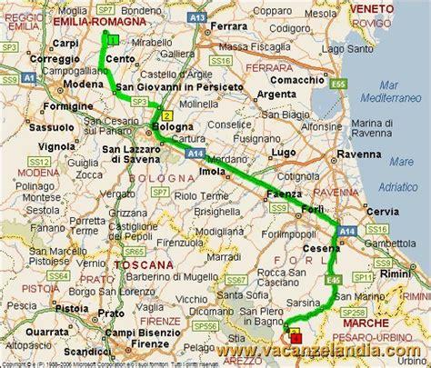 bagno di romagna mappa itinerari diari di viaggio emilia romagna toscana bagno