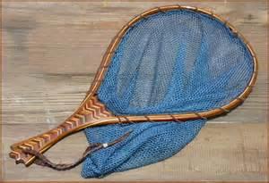 custom wood fly fishing landing net 18 quot multiwood quot in