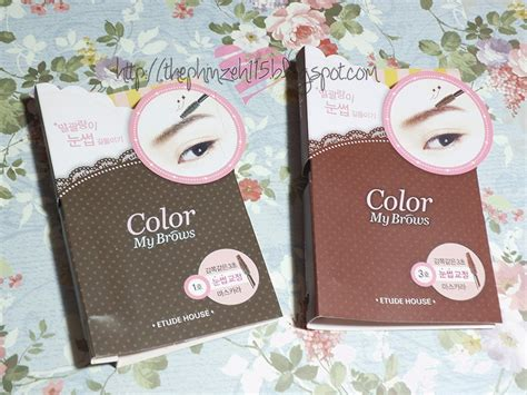 Etude House Color My Brow 4 5gr phinzeh115 review etude house color my brows rich brown