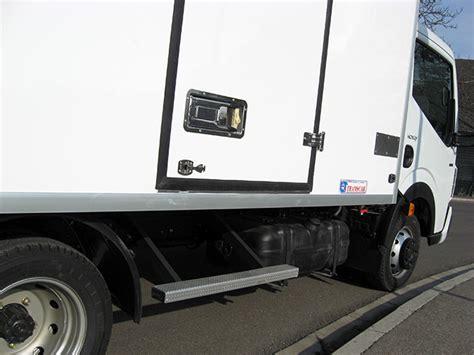 pedane per furgoni pedane e scalette per furgoni isotermici transcar bertinoro