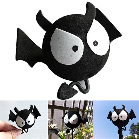 big bat evil aerial car antenna topper for truck suv decor balls ebay