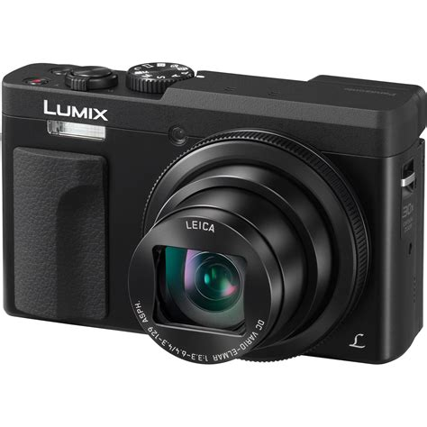 digital panasonic panasonic lumix dc zs70 digital black dc zs70k b h