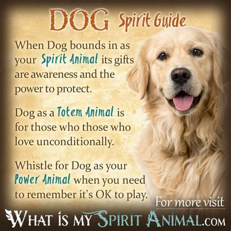 dog symbolism meaning animal spirit guides spirit