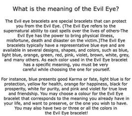evil eye color meaning meaning of evil eye i symbols