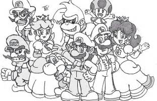 mario luigi coloring pages protect princess gianfreda net