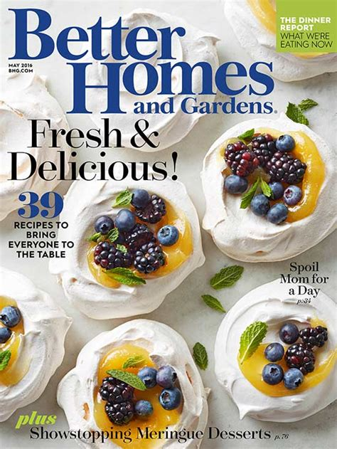 Better Homes And Gardens Magazine Customer Service by May 2016