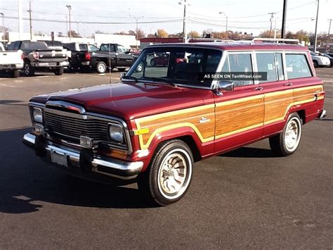 Jeep Grand 1985 Extremely 1985 Jeep Grand Wagoneer Wow Immaculate