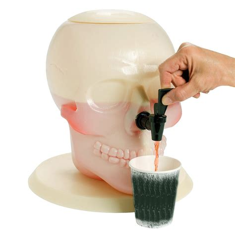 giant drink giant skull drink dispenser the green head