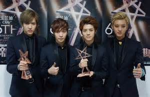 film exo member exo m is on top in china hancinema the korean movie