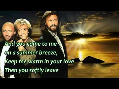 bee gees how deep is your love bee gees how deep is your love lyrics youtube