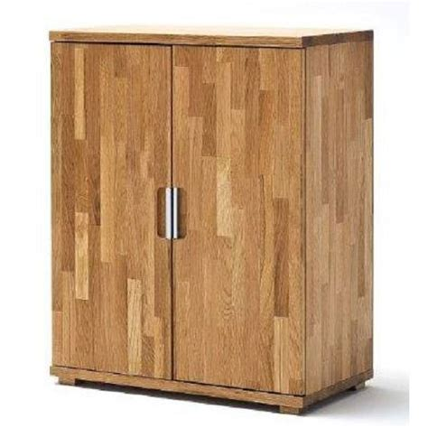 cento knotty oak low board storage cabinet with 2 door