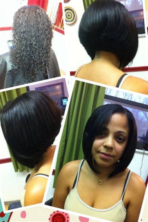 asymmetrical bob sew in sew in asymmetrical bob hairstyles i must try